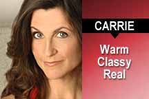 Commercial Voice Over Demo: Carrie Theodossin